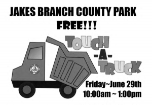TOUCH A TRUCK @ Jakes Branch County Park