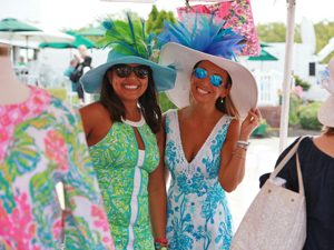 Ladies' Day Sponsored By Lilly Pulitzer Shops At Riverside @ Monmouth Park Race Track