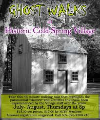 Ghost Walks at Historic Cold Spring Village @ Historic Cold Spring Village